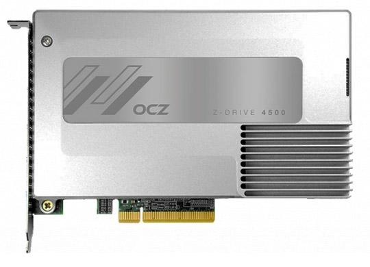 Photo of OCZ جدیدترین فضای ذخیره سازی PCI خود را معرفی کرد: Z-Drive 4500