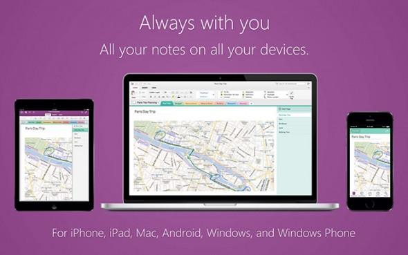 onenote for mac & windows