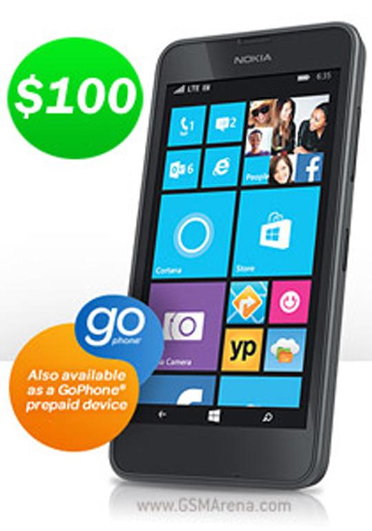 Photo of فروش نوکیا لومیا 635 تنها با 100 دلار در طرح GoPhone