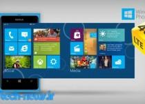 تنظیمات تری جی در ویندوز فون