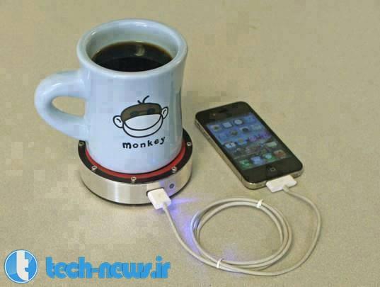 Photo of استفاده از نوشیدنی سرد یا گرم برای شارژ موبایل!