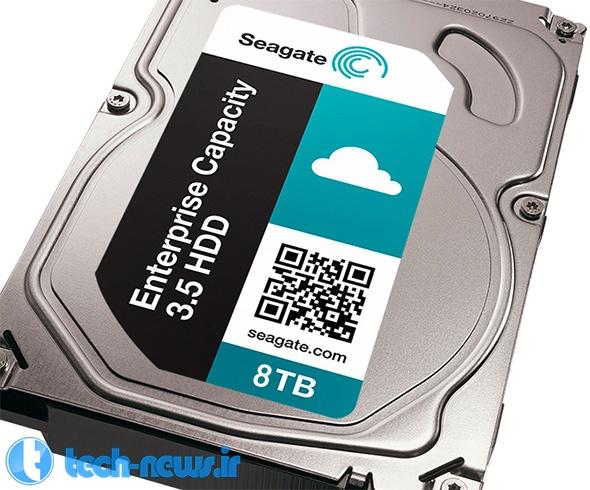 Photo of Seagate اولین هارد دیسک 8 ترابایتی دنیا را معرفی کرد