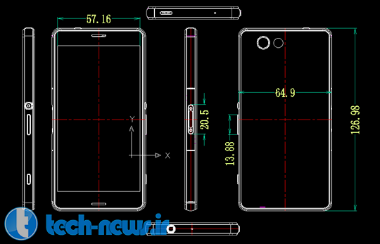 Xperia-Z3-Compact-Dimensions-Leaked