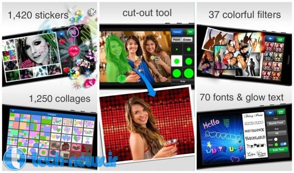 Photo of 15 اپلیکیشن ویرایش و ساخت عکس برای اندروید، IOS و ویندوز موبایل