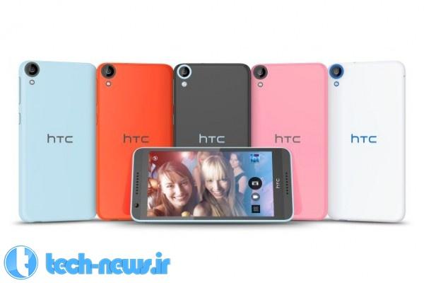 Photo of HTC Desire 820 دومین تلفن هوشمند با پردازنده 64 بیتی کوالکام (IFA 2014)
