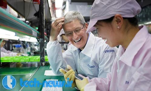 Photo of تیم کوک در حال سفر به کشور چین؛ برای بازدید از کارخانه های تولید کننده ی آیفون 6