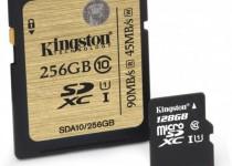 Kingston-256GB-Class-10-SDXC-and-128GB-Class-10-microSD
