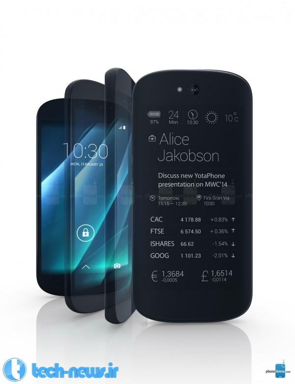Photo of YotaPhone 2 تلفنی هوشمند با دو صفحه نمایش