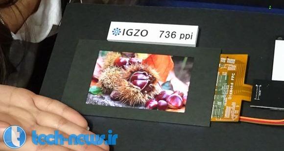 Photo of شارپ نمایشگر 4.1 اینچی با چگالی 736 پیکسل بر اینچ معرفی کرد