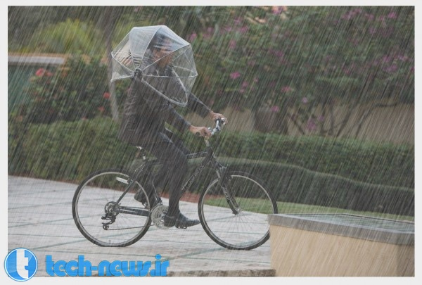Photo of اینبار با یک چتر پوشیدنی آشنا شوید!