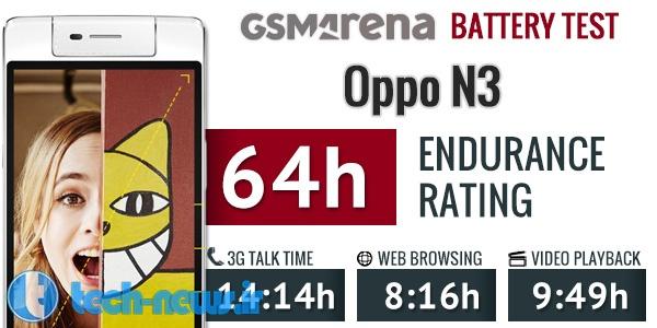 Oppo N3 battery