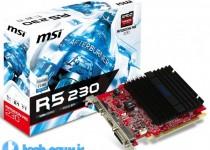 msi Radeon R5 230