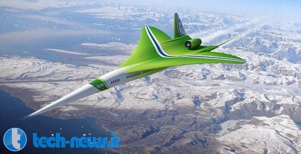 Photo of نسل جدید کنکورد، قادر خواهد بود تا فاصله ی بین لندن و نیویورک سیتی را در طی 3 ساعت بپیماید!