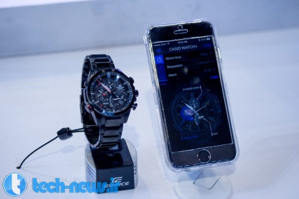 Casio Edifice EQB-500 proves that Bluetooth watches can look darn cool (hands-on) 2