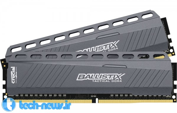 Crucial Introduces New Ballistix Sport and Tactical DDR4 Gaming Memory 2