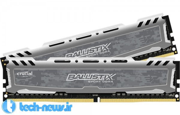 Crucial Introduces New Ballistix Sport and Tactical DDR4 Gaming Memory