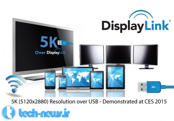 DisplayLink Shows 5K Display Connectivity over Single USB Cable