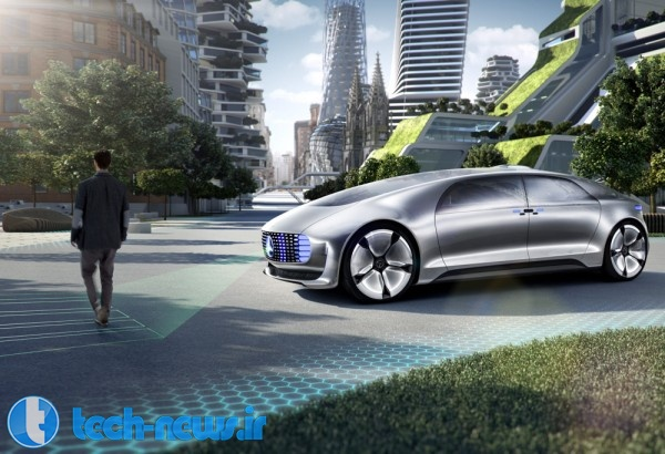Four things to know about Mercedes' self-driving F 015 3