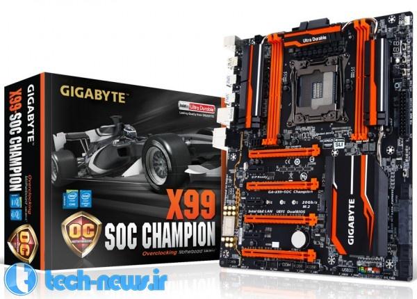 Photo of دو محصول جدید از گیگابایت : مادربورد X99 و کامپیوتر شخصی کوچک (CES 2015)