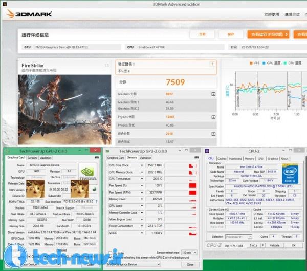 GeForce GTX 960 3DMark Numbers Emerge 4
