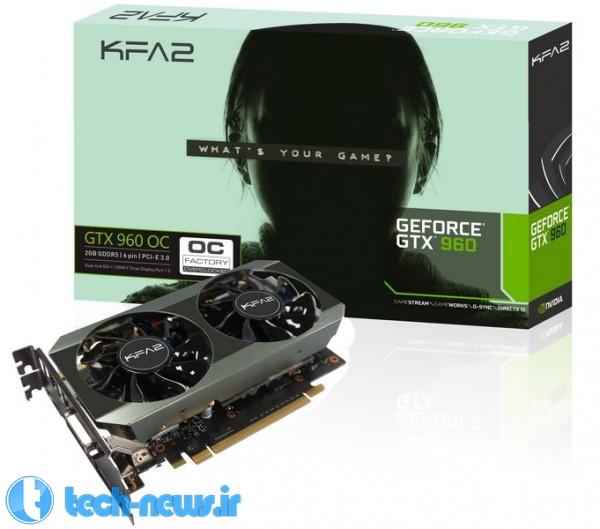 KFA2 GTX 960 OC