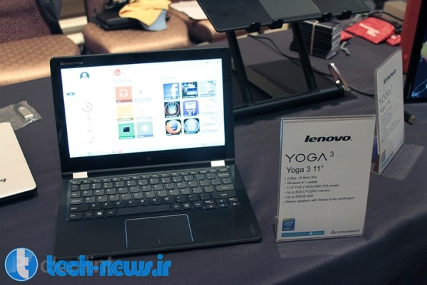 Lenovo Yoga 3 and Yoga Tablet 2