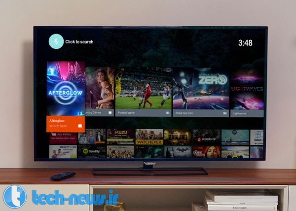 Philips TV powered by Android Lollipop