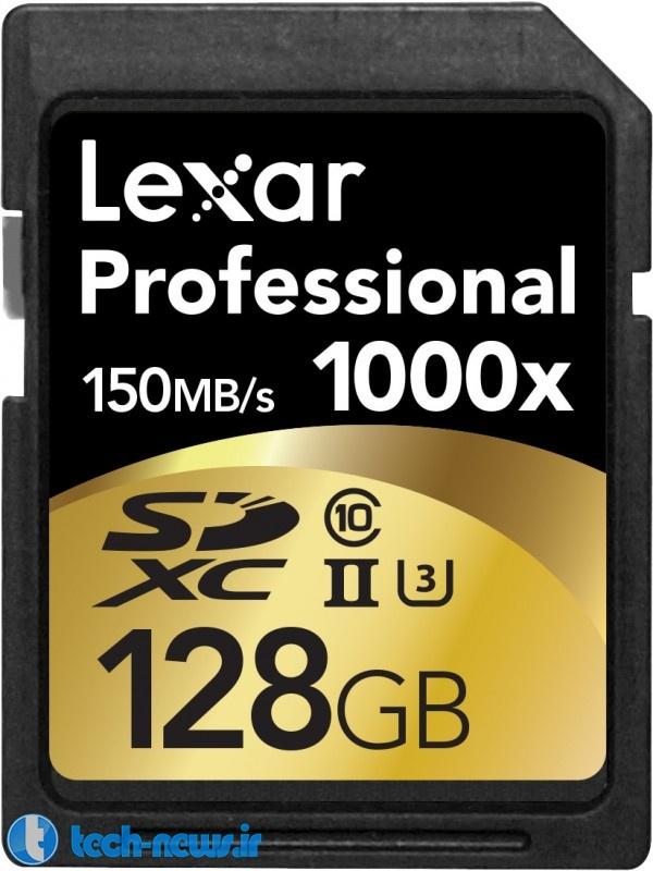 Professional 1000x microSD UHS-II 128GB