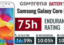 Samsung Galaxy Core Prime battery test
