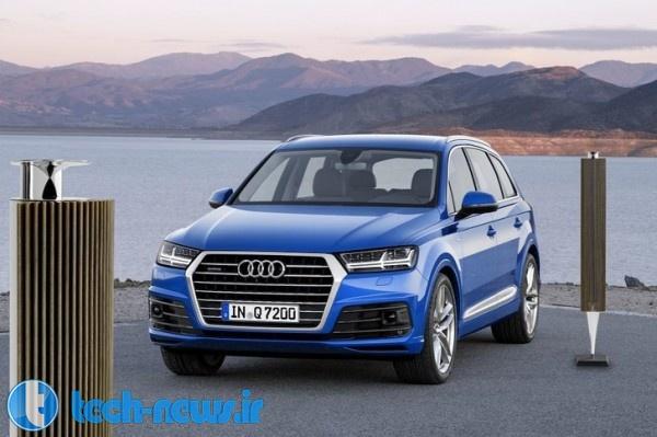 Photo of خودروی جدید Audi Q7 به سیستم صوتی سه بعدی Bang & Olufsen مجهز شده است!