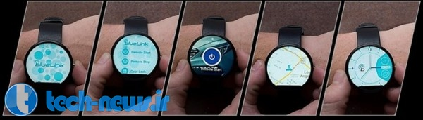 You can now use an Android Wear watch to remotely control your Hyundai car 1