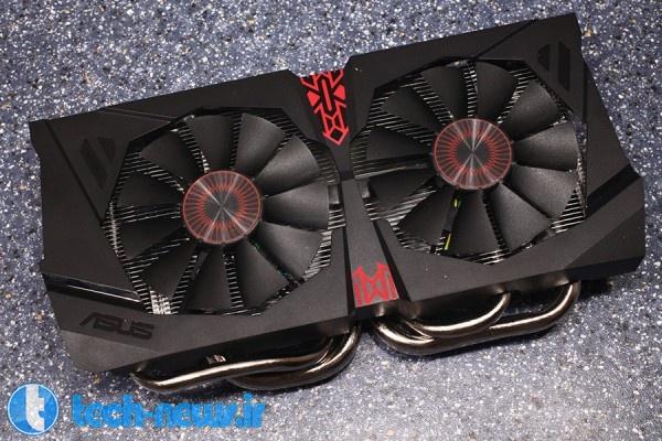 ASUS GTX 960 STRIX OC 2 GB closer look 7