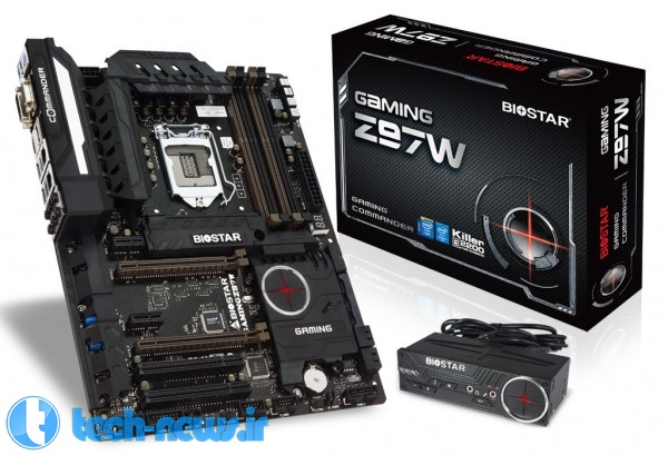 BIOSTAR Announces the GAMING Z97X and Z97W Motherboards 2