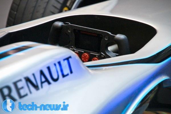 Formula E car power