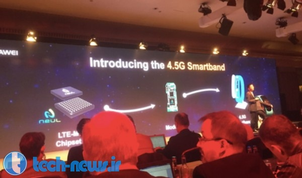 Huawei introduces the first LTE powered smartband; device supports Huawei's 4.5G network