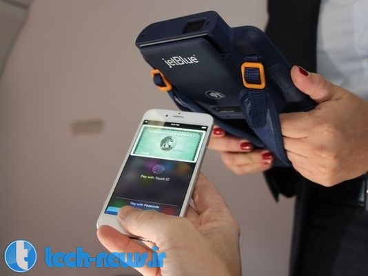JetBlue becomes the first airline to accept Apple Pay in-flight