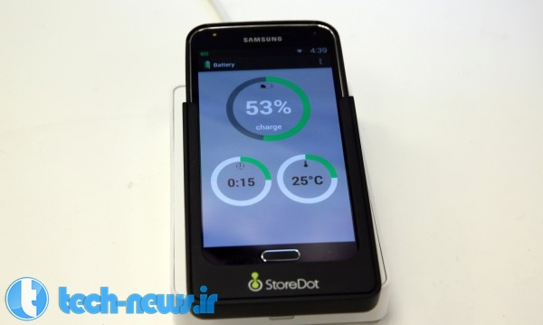 Photo of شرکت StoreDot باتری ساخته که در عرض 60 ثانیه شارژ می شود!