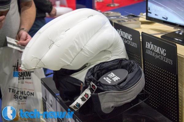 The blow-up helmet