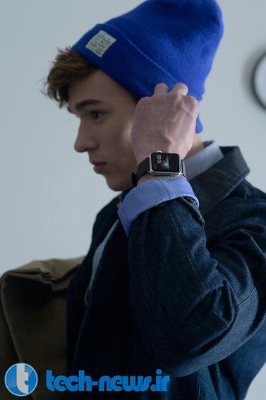 ساعت هوشمند اپل در مجلهی فشن هنگ کنگ به نمایش گذاشته شد