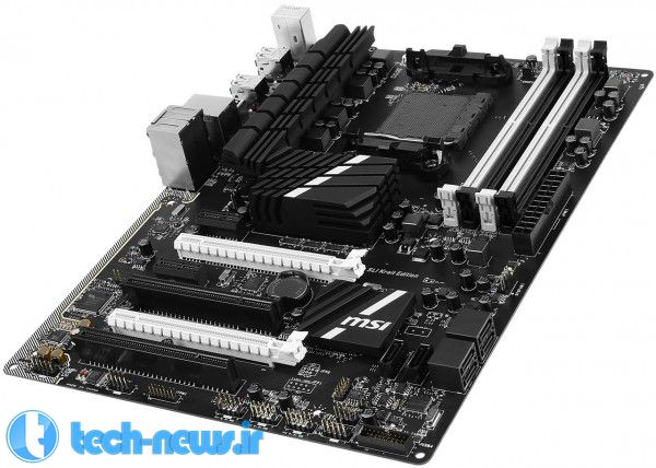 MSI Announces First AMD Motherboard with USB 3.1, the 970A SLI Krait Edition 4