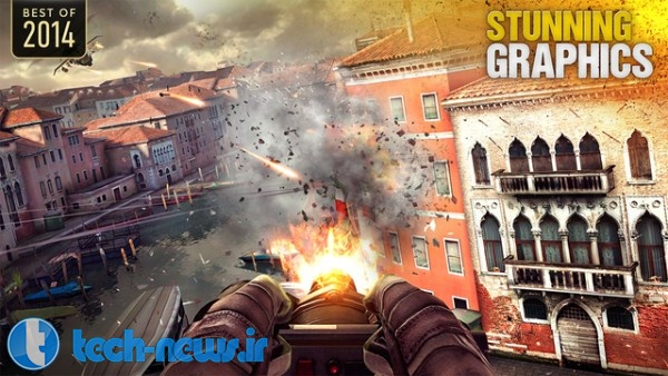 بازی محبوب Modern Combat 5 برای اندروید و iOS رایگان شد!