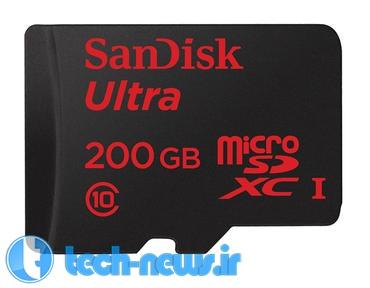 Photo of MWC 2015: شرکت SanDisk از کارتهای حافظهی 200 گیگابایتی خود رونمایی کرد