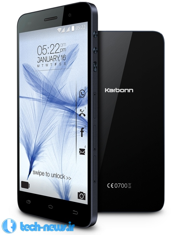 Photo of کمپانی Karbonn از گوشی مقرون به صرفه Titanium Mach Two رونمایی کرد