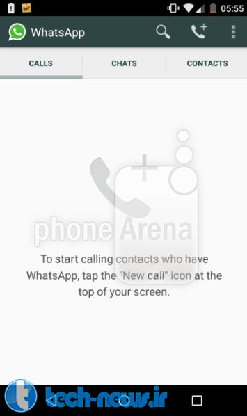 WhatsApp update for Android enables Voice Calls