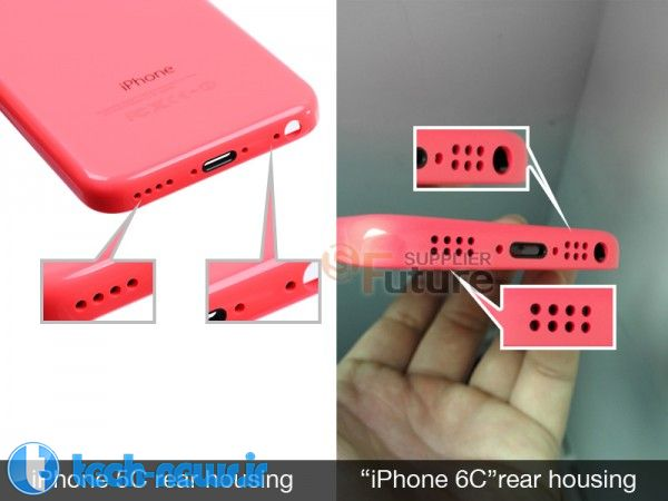 iPhone 6c rear cover possibliy pictured - new 4-inch iPhone confirmed 2