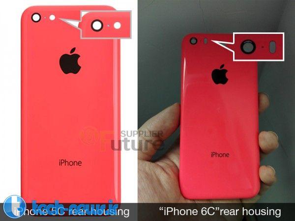 Photo of تصویری احتمالی از تلفن iPhone 6c منتشر شد
