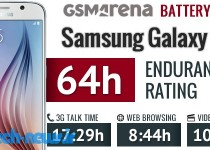 samsung galaxy s6 battery life