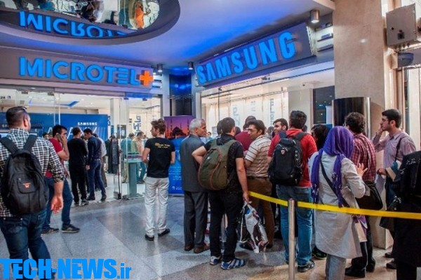 Photo of صف خرید گوشیهای هوشمند گلکسی اس6 و اس6 اج در تهران