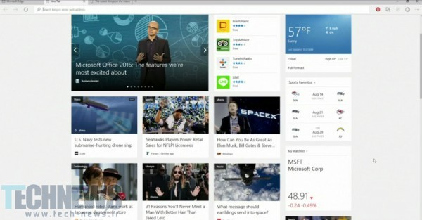 مرورگر جدید مایکروسافت به نام Edge معرفی شد، آیکون بسیار شبیه به Internet Explorer!