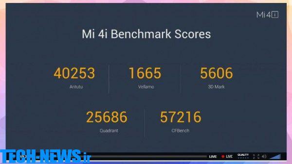 شیائومی از گوشی هوشمند جدید خود رونمایی کرد، Mi 4i اقتصادی با تنوع رنگی زیاد